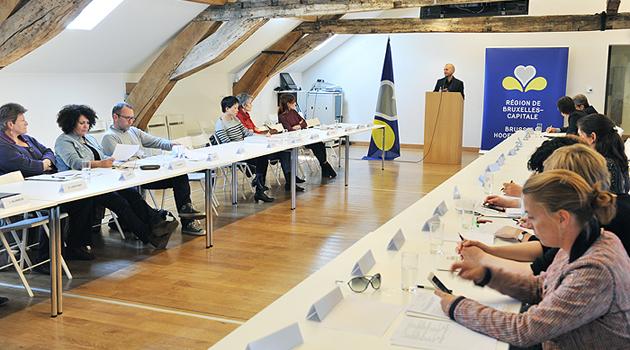 foto aanwezigen in de zaal