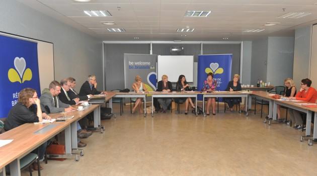 Bezoek staatssecretaris Mevr. Bianca Debaets