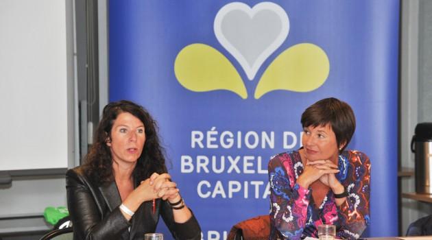 Visite secrétaire d'Etat Mme. Bianca Debaets